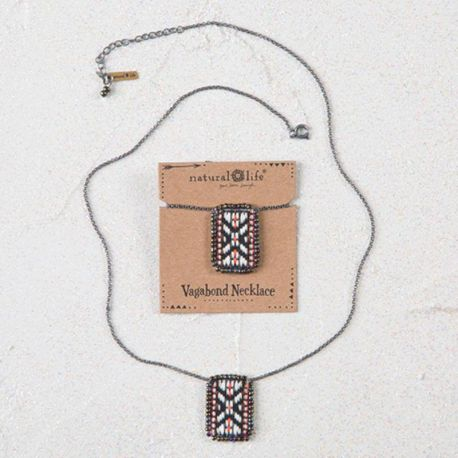 Vagabond Necklace Cream Org
