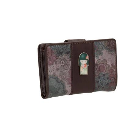 KD WALLET SMALL BROWN/COLORED - TAMAKO