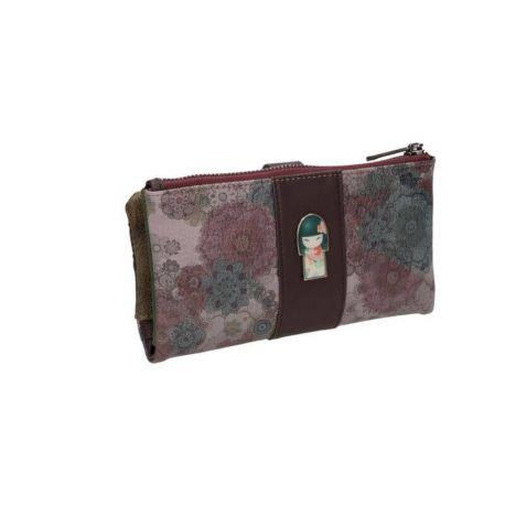 KD WALLET LARGE BROWN/COLORED - TAMAKO