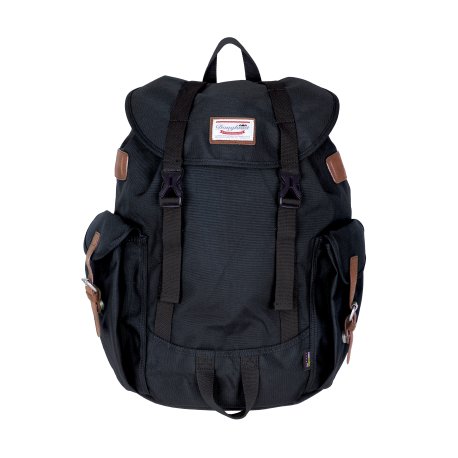 WOODLAND CORDURA BLACK