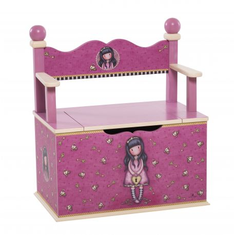 WOODEN TOY CHEST THE SECRET