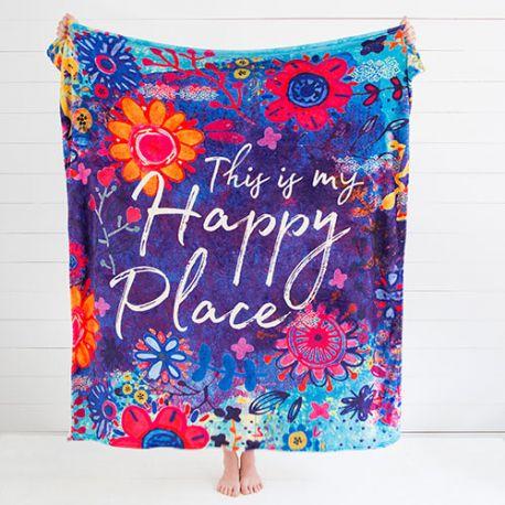 ΚΟΥΒΕΡΤΑ MY HAPPY PLACE