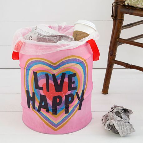 Pop Up Trash Live Happy Heart