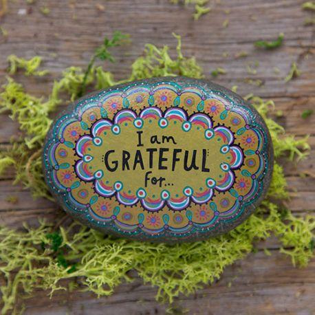 Happiness Rocks I am grateful