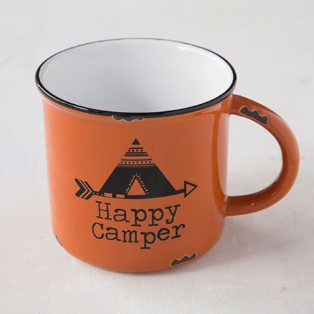 Camp Mug Happy Camper Tee Pee