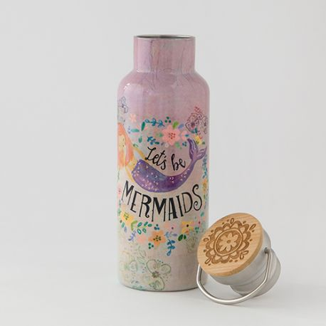 Traveler Bottle Let's Be Mermaids