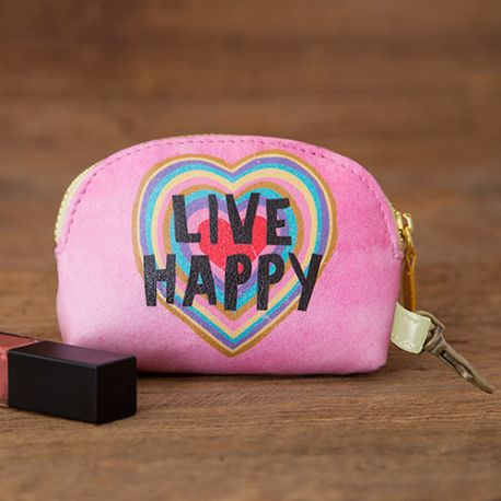 Mini Pouch Live Happy Heart
