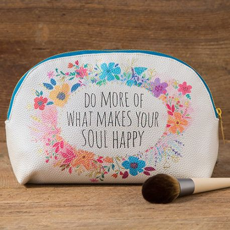 Cosmetic Bag Do More Soul Happy