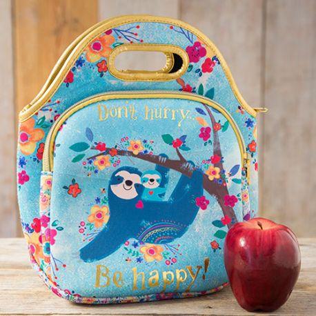 Neoprene Lunch Bag Don't hurry