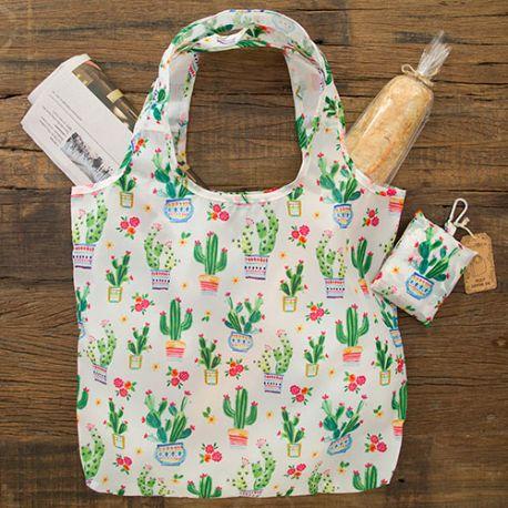 Foldup Shopping Bag Cactus