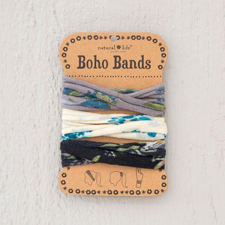 Boho Bands Blue Floral Combo