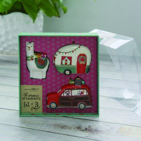 Keepsake Ornament Set (3 different items in a set)