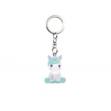 Keychain Unicorn Pistachio