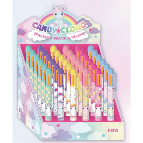 Multi Color Pen Display Unicorn