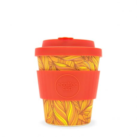 Bamboo Cup with Lid Singel