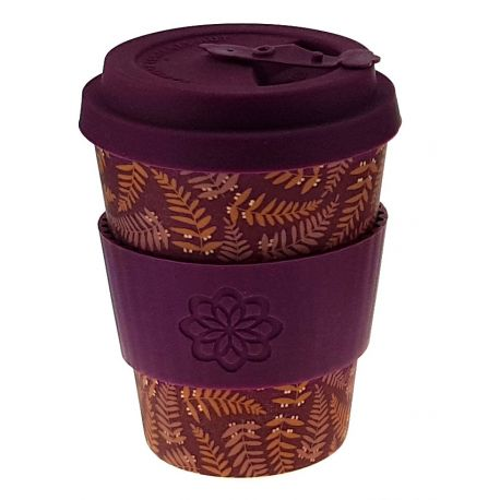 Bamboo Cup with Lid Tiny Garden Beatrix