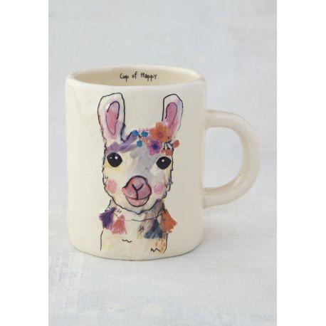 Happy Prairie Mug Llama
