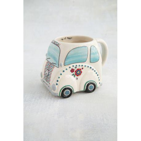 Folk Mug VW Beetle