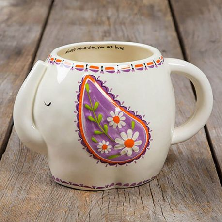 Folk Mugs Always Remember You Are Loved