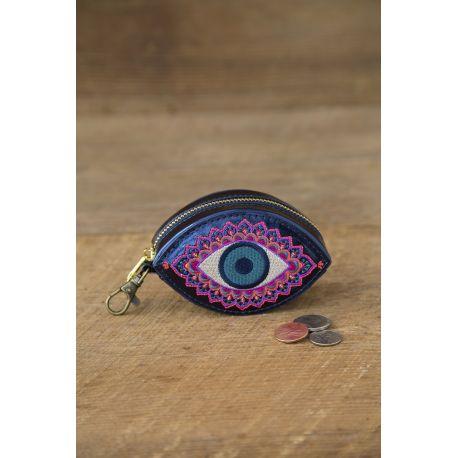 Tulum Pouch Evil Eye