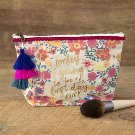 Canvas Pouch Best Day Ever