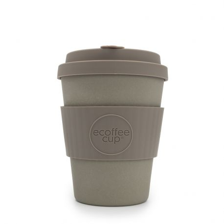 Bamboo Cup With Lid Molto Grigio