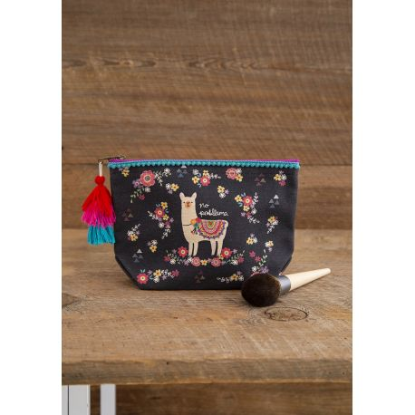 Cosmetic Bag Cocoa Daisies