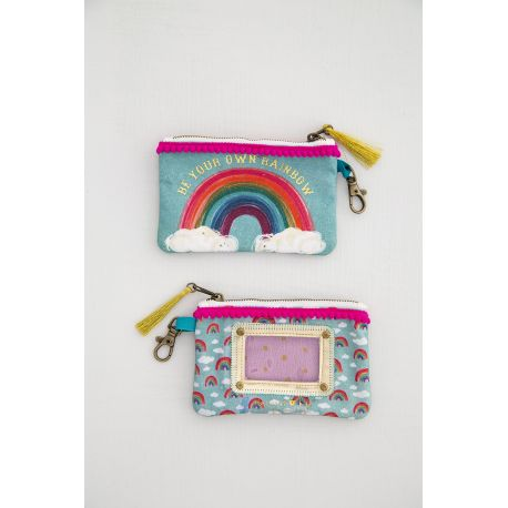 ID Pouches Be Your Own Rainbow