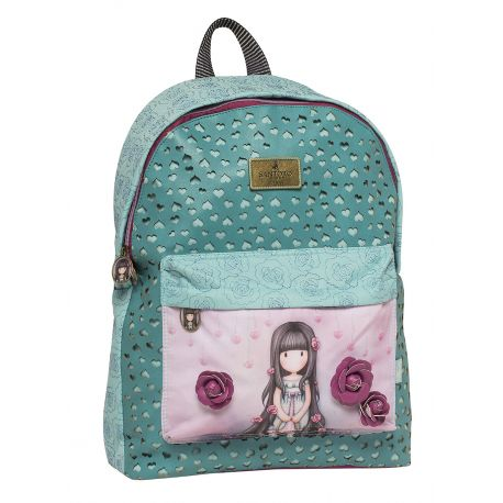 Round Backpack Rosebud