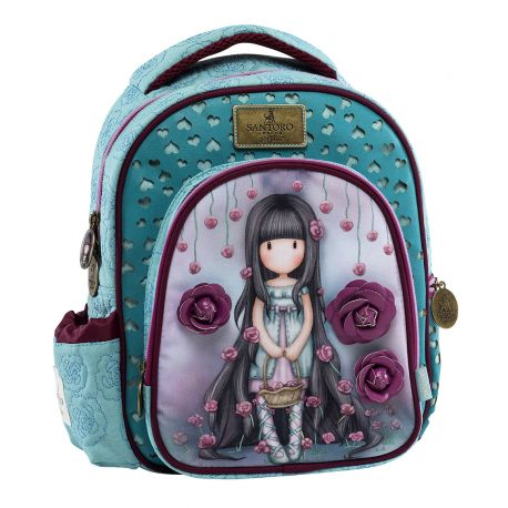 Round Small Backpack Rosebud