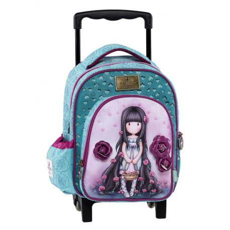 Small Trolley Backpack Rosebud