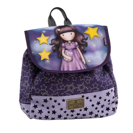 Small Backpack W/Flap Catch A Falling Star