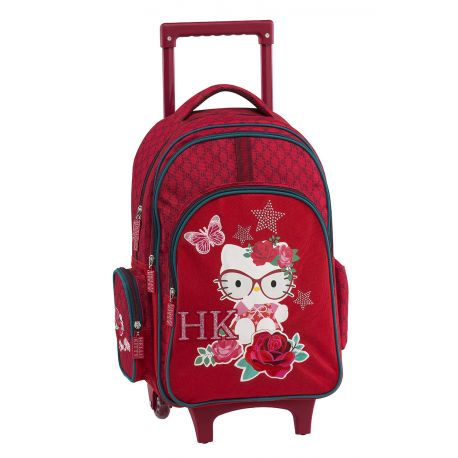 Trolley Backpack Red