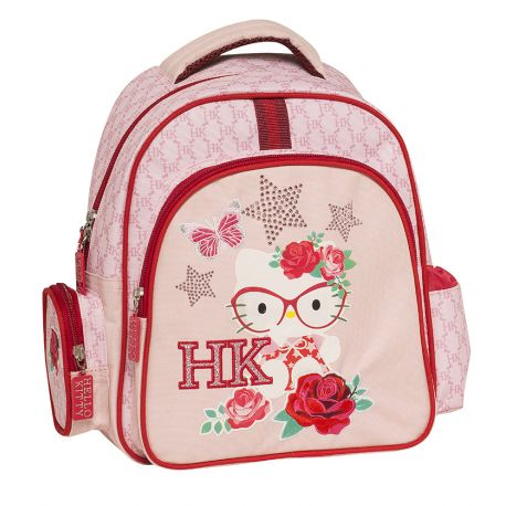 Round Small Backpack Pink