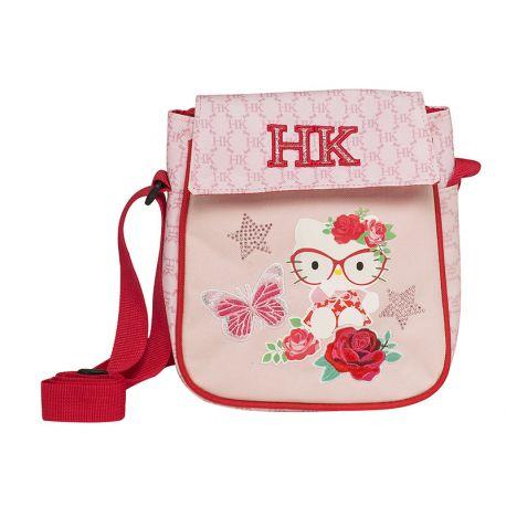 Shoulder Bag W/Flap Pink