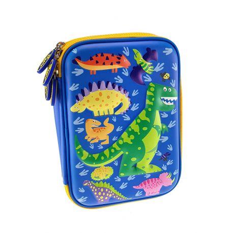 3 Eva Double Decker W/Filling Dinosaur Blue