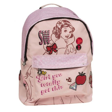 Round Backpack Snow White