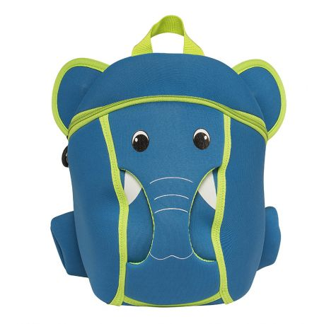 Bacpack Blue  Elephant (With Sound)