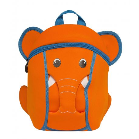 Bacpack Orange  Elephant (With Sound)