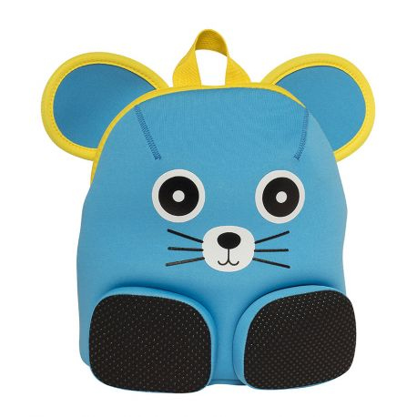 Bacpack Blue Mouse