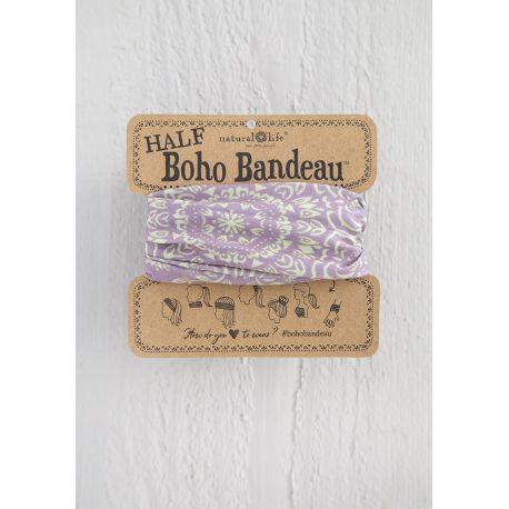 Half Bandeau Lavender Cream Mandala