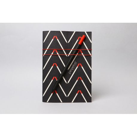 Red Perpetua  Alisea NOTEBOOK