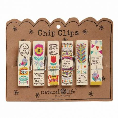 Chip Clip S/6 Cream Kitchen Ru
