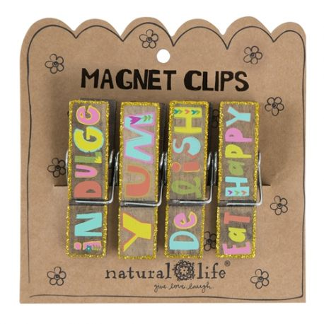 Magnet Clip S/4 Indulge Yum