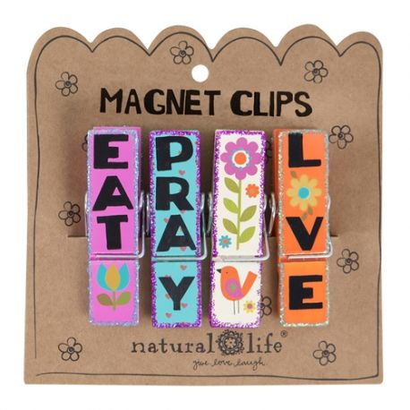 Magnet Clip S/4 Eat Pray Love