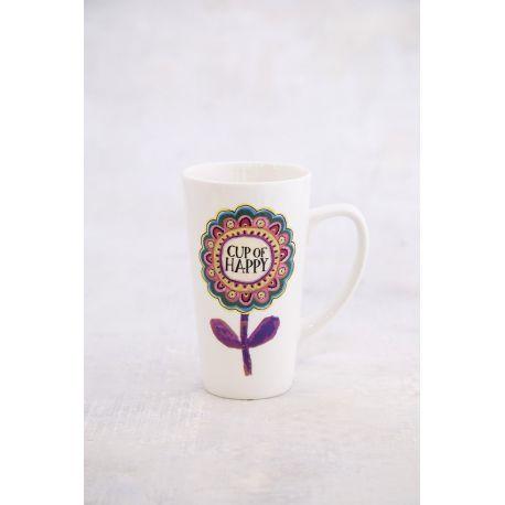 Latte Mug Cup Of Happy