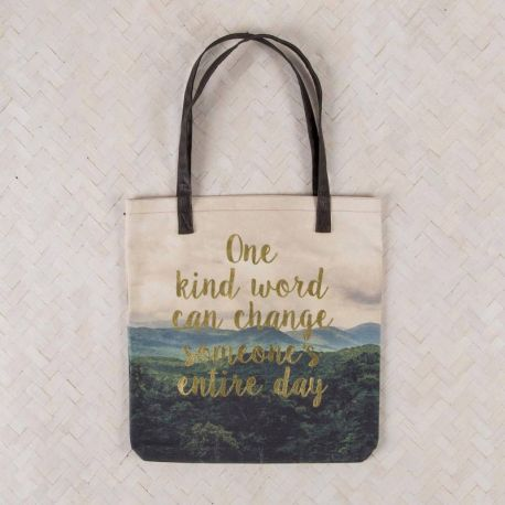 Indi Blue Tote Take Time
