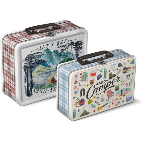 NESTING LUNCH BOX TINS