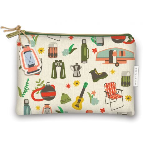 ZIPPERED CANVAS BAGS
