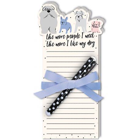 DIE-CUT NOTE PADS WITH PEN (ANIMALS)